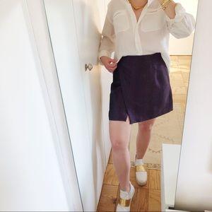 Armani Plum Skirt